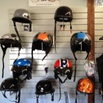 We have a wide selection of helmets and can custom order